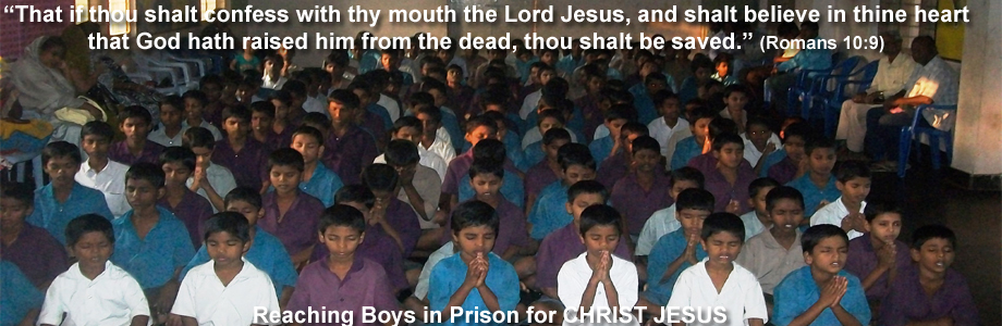 Boys in Prison for Christ Jesus